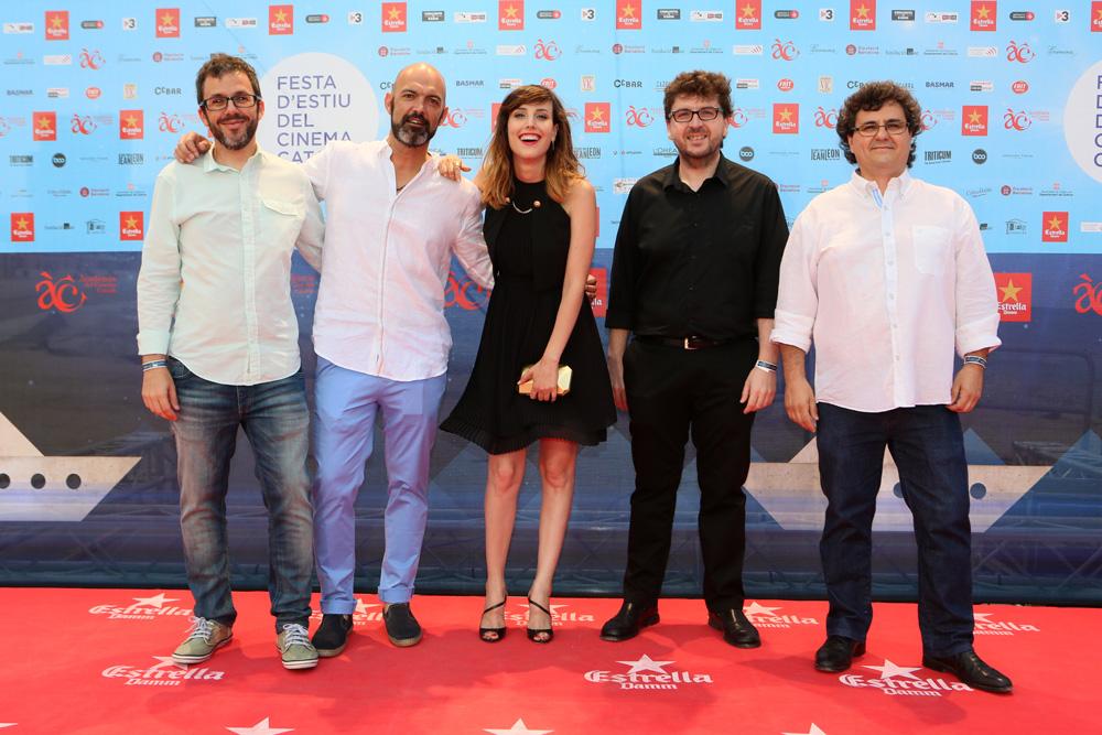 Techo y comida en la Fiesta de Verano del Cine Catalán