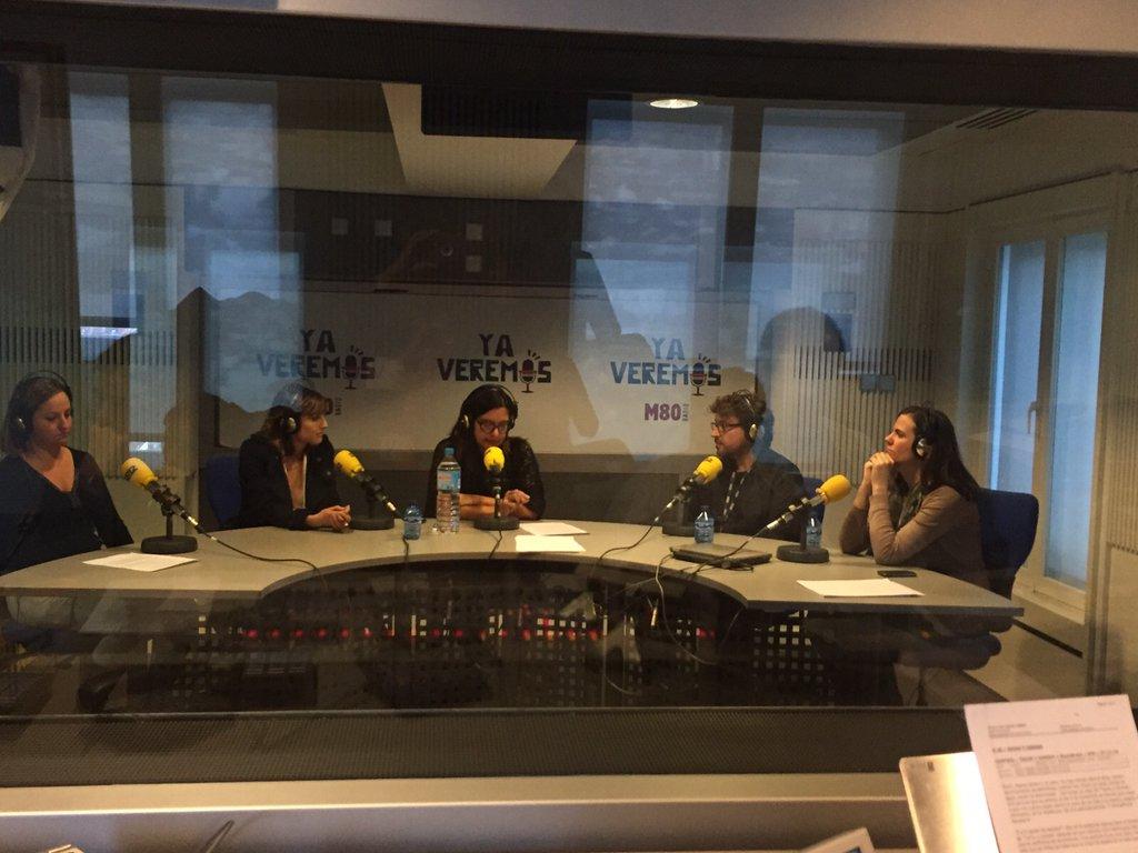Natalia de Molina se emociona en Hora 25 de la Cadena Ser