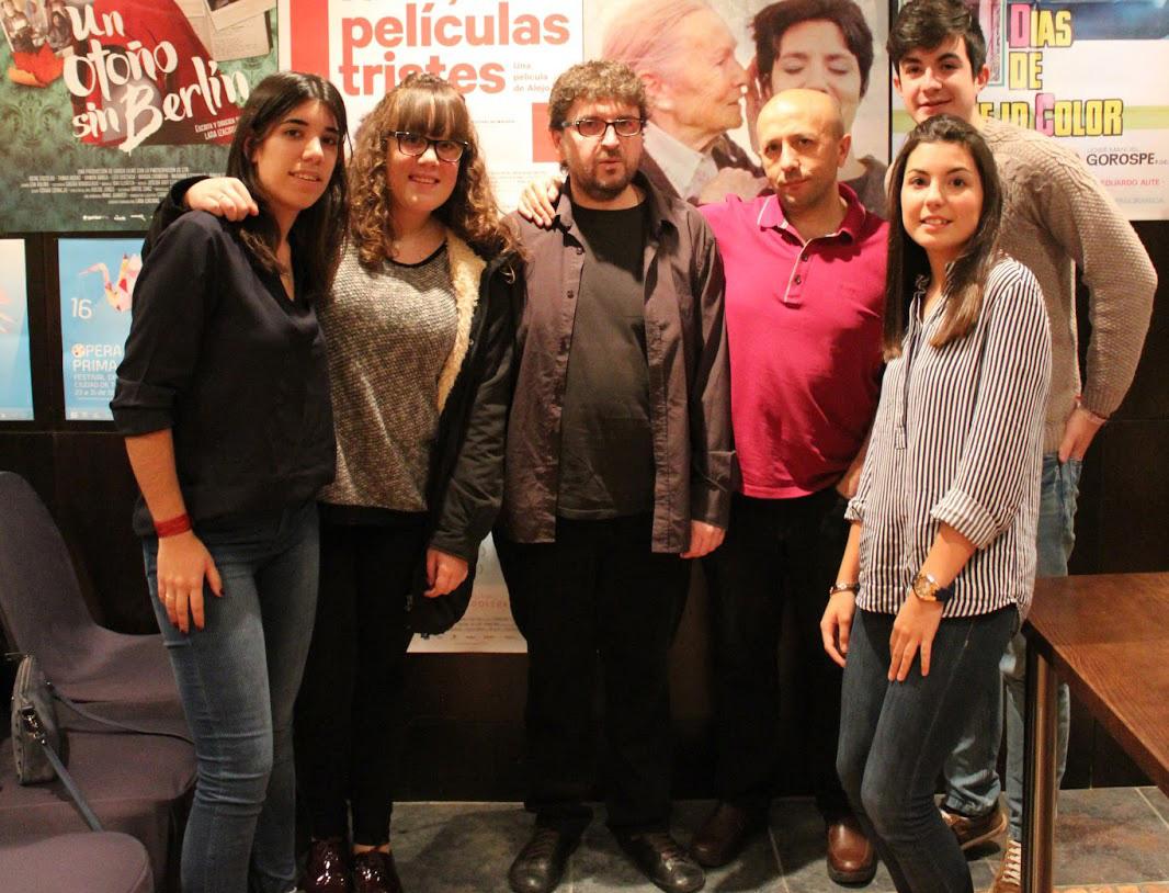 La crónica de los alumnos de un Instituto en Tudela