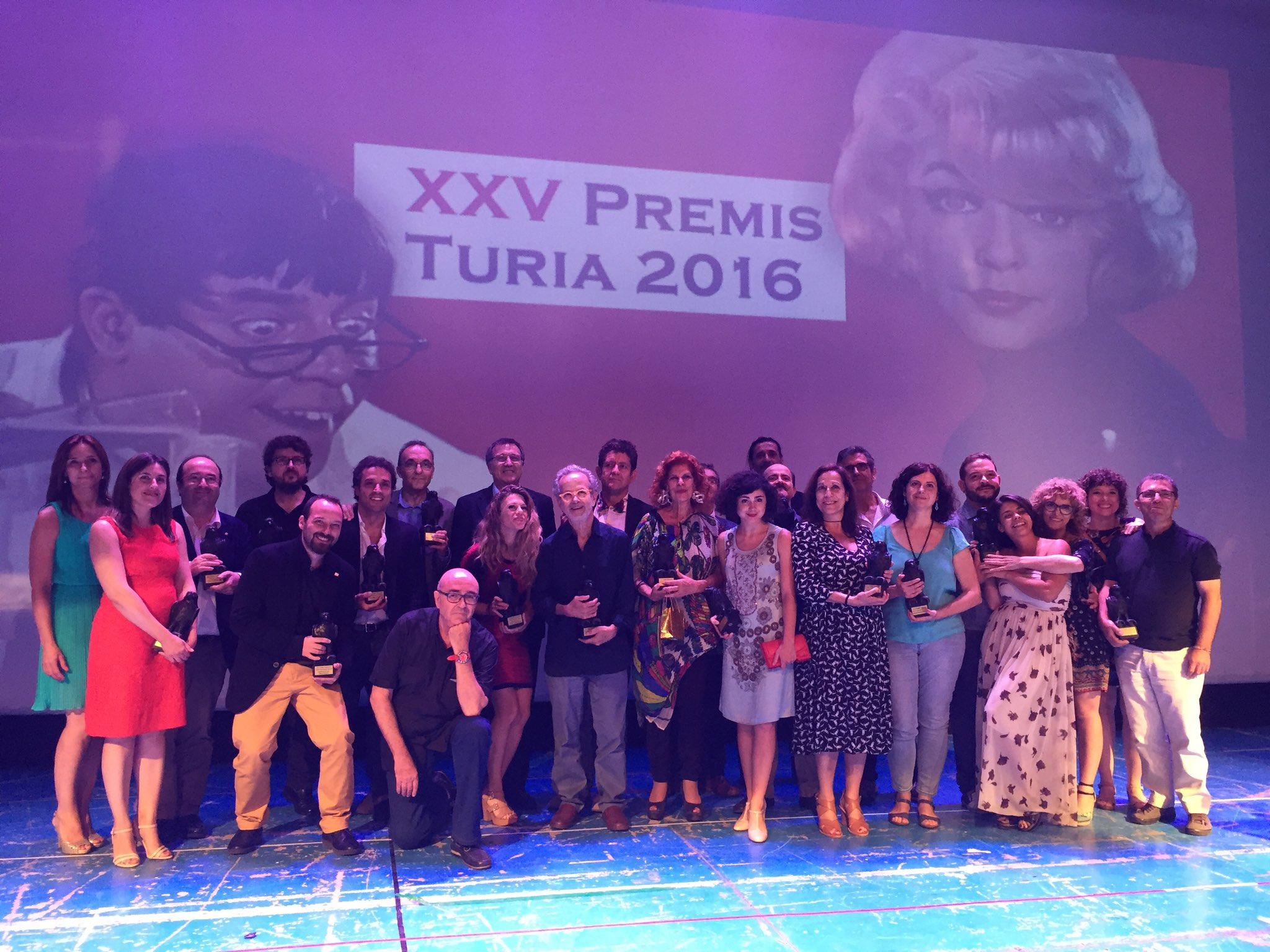Premios Turia 2016