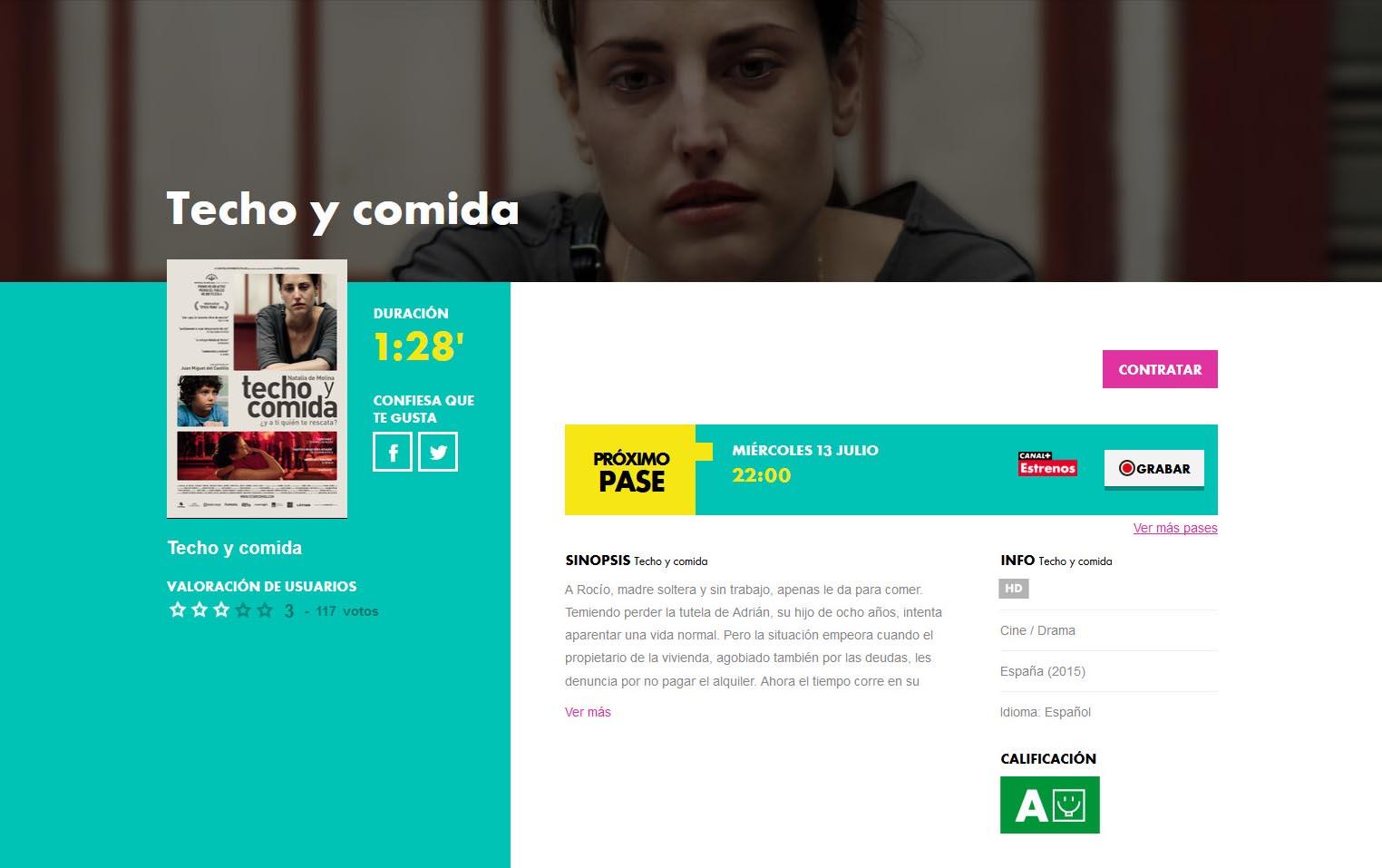 Estreno en Movistar +